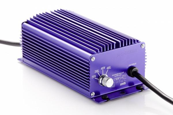 Lumatek 400 W Vorschaltgerät original, schaltbar, elektronisch, für HPS u. MH Leuchtmittel