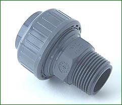 Anschlußverschraubung 1 A.G.-32mm