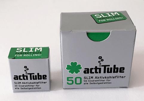 acti Tube slim Aktivkohler 50 stk.