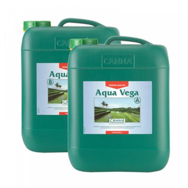 Canna Aqua Vega 10L, Wachstum