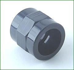 PVC-Anschlußverschraubung 1AG -32 mm