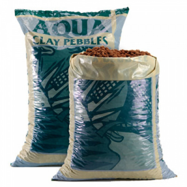 CANNA Aqua Clay Pebbles, Tongranulat, 45 L, Hydro-Steine