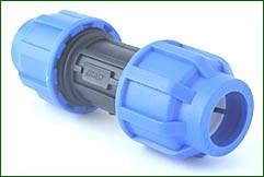 PE-Kupplung 20 > 20 mm, verschraubt