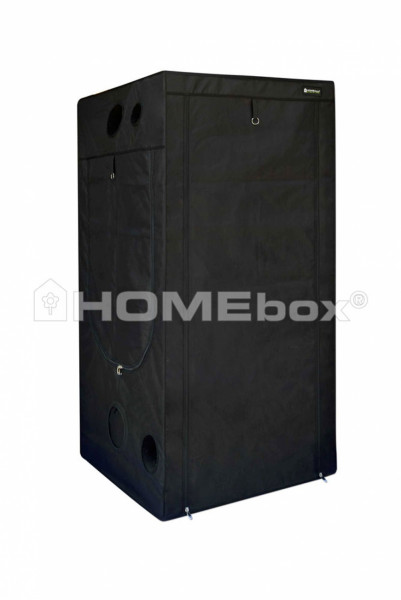 HOMEbox Evolution Q 100, aufgebaut 100cm x 100cm x 200cm
