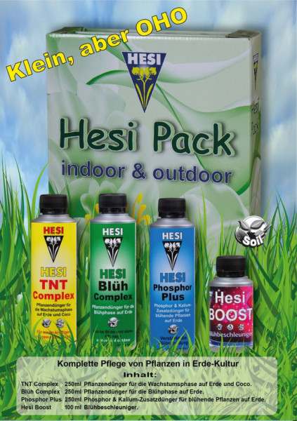 Hesi Pack indoor & outdoor, Mini Starterset