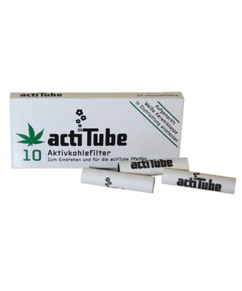 acti Tube Aktivkohlefilter 10 stk.