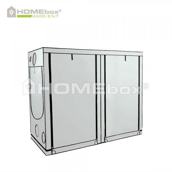 HOMEbox Ambient R240, aufgebaut 240cm x 120cm x 200cm