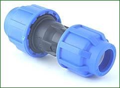 PE-Kupplung (Reduktion) 25>20 mm