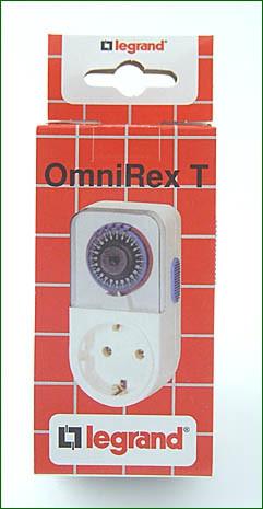 Mechanische Zeitschaltuhr Omnirex