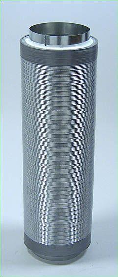 Telefonieschalldämpfer ø 200mm , Länge 75 cm