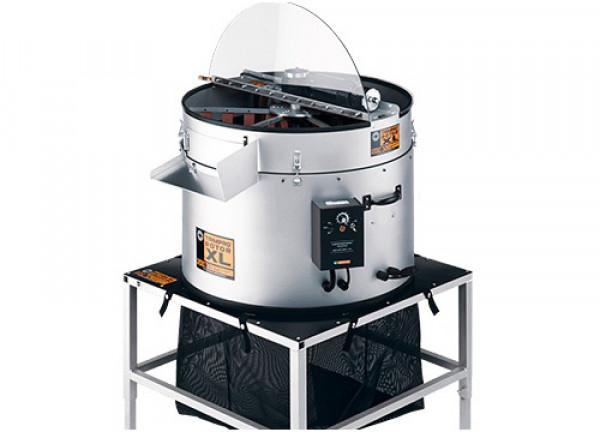 Trimpro Rotor XL, Erntemaschine für den Profigärtner, Maße aufgebaut 71,1 cm x 132 cm