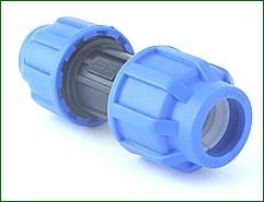 PE-Kupplung 25 > 25 mm verschraubt