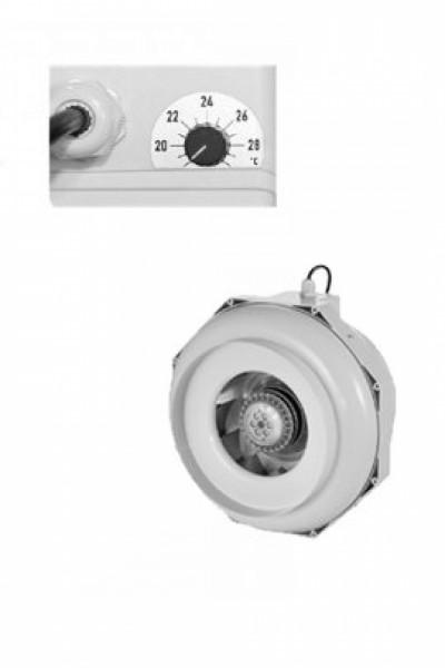 CAN FAN RKW160 inkl. Temp-Kontrolle, 160|460m³/h