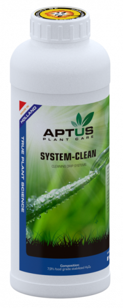 Aptus System-Clean, Tropfsystemreiniger, 1000ml