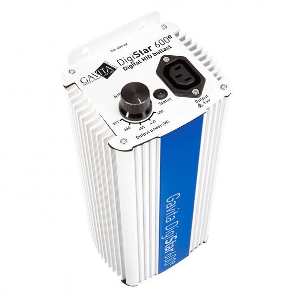 Gavita DigiStar 600 e-Serie, digitales Vorschaltgerät, Dimmbar