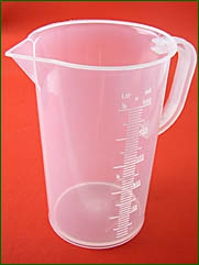 Meßbecher 500 ml, 10 ml Teilung