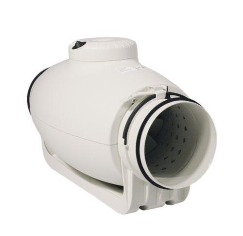 Schallgedämmter Rohrventilator, halbradial, TD-350/125 Silent