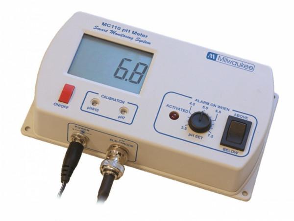 Milwaukee ph Meter permanent MC110, inkl. Elektrode