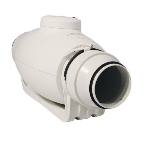 Schallgedämmter Rohrventilator TD-250/100 Silent, halbradial