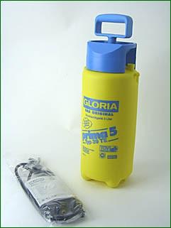 Gloria Drucksprühgerät, 5 Liter Tank