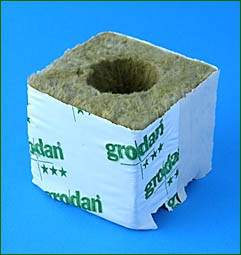 Grodan Kulturblock (7,5x7,5x6,5), grossloch