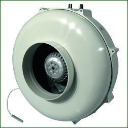 Prima Klima Rohrlüfter 160mm - 800m³/h mit Temperaturregler