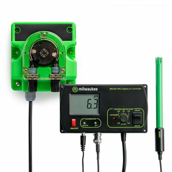 Milwaukee Set pH Monitor MC122 mit Mikrodosierpumpe