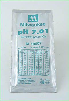 pH Eichflüssigkeit 7,01, 20 ml