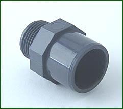 PVC-Anschlußverschraubung 3/4 AG