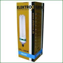 Energiesparlampe Elektrox 200 W, Wachstum