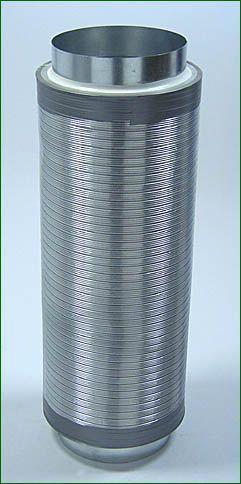 Telefonieschalldämpfer ø 250mm , Länge 75 cm