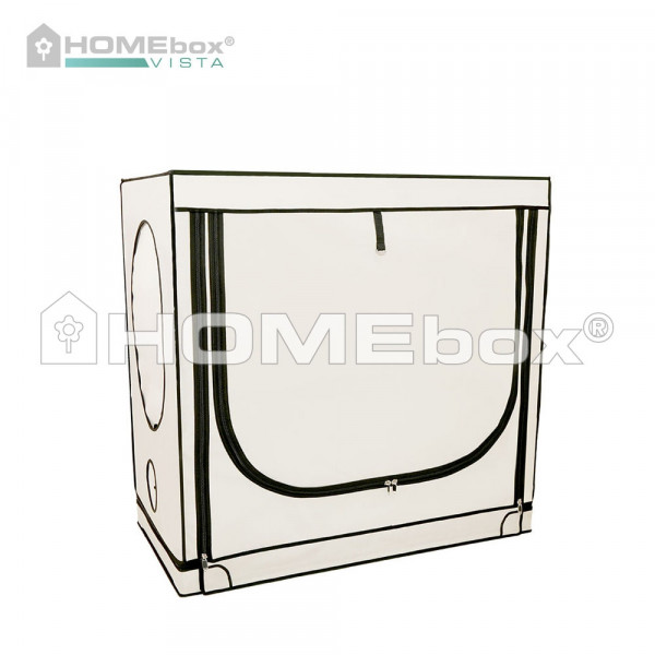 HOMEbox Vista Medium, aufgebaut 125cm x 65cm x 120cm