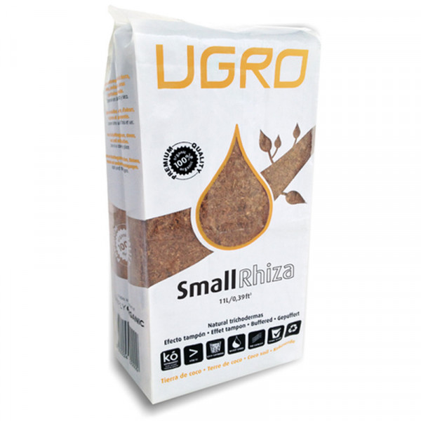 UGro Coco Brick Rhiza Small 11 Liter