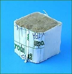 Grodan Miniblock (4x4 cm), 15 stk.