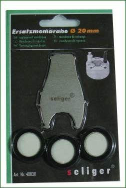 Ersatzmembrane für Mini- und Maxinebler 3er Set