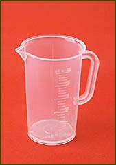 Meßbecher 50 ml, 2 ml Teilung