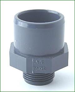 gerade Kupplung 32 mm - 32 mm