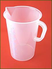 Meßbecher 3000 ml, 50 ml Teilung