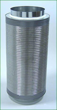 Telefonieschalldämpfer ø 315 mm , Länge 75 cm