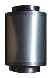 CAN Schalldämpfer starr, 250mm Flansch