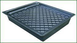 Gro-Tank GN100, hydroponisches NFT-System, für 9-16 Pflanzen, 122 x 109 x 22 cm, 100 L