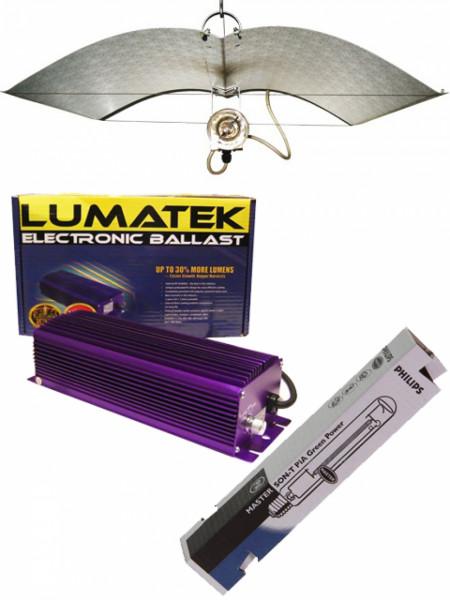Lumatek EVSG - Adjust a Wing - Osram 400 Watt Deluxe Komplett Set