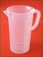 Meßbecher 250 ml, 5 ml Teilung